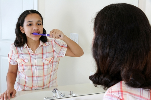 mouthwash instead of flossing